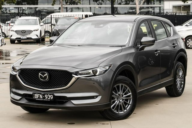 Used Mazda CX-5 KF4WLA Touring SKYACTIV-Drive i-ACTIV AWD Narre Warren, 2020 Mazda CX-5 KF4WLA Touring SKYACTIV-Drive i-ACTIV AWD Grey 6 Speed Sports Automatic Wagon