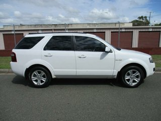 2009 Ford Territory SY MkII TX AWD White 6 Speed Sports Automatic Wagon.