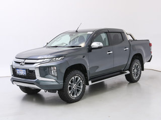 2018 Mitsubishi Triton MR MY19 GLS (4x4) Grey 6 Speed Manual Double Cab Pick Up.