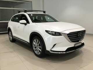 2019 Mazda CX-9 TC GT SKYACTIV-Drive i-ACTIV AWD Snowflake White 6 Speed Sports Automatic Wagon.