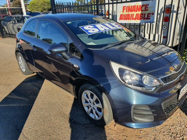 Used Kia Rio UB MY15 S Morphett Vale, 2015 Kia Rio UB MY15 S Blue 4 Speed Sports Automatic Hatchback