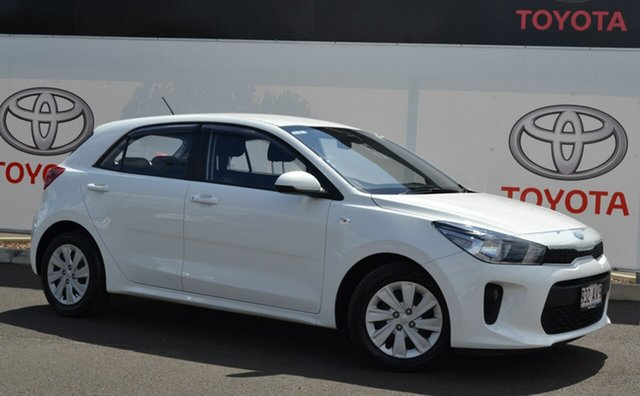 Pre-Owned Kia Rio YB MY18 S Warwick, 2017 Kia Rio YB MY18 S White 4 Speed Automatic Hatchback