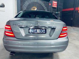 2011 Mercedes-Benz C-Class W204 MY11 C200 BlueEFFICIENCY 7G-Tronic + Avantgarde Grey 7 Speed