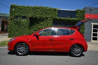 2012 Hyundai i30 FD MY12 Trophy Red 5 Speed Manual Hatchback
