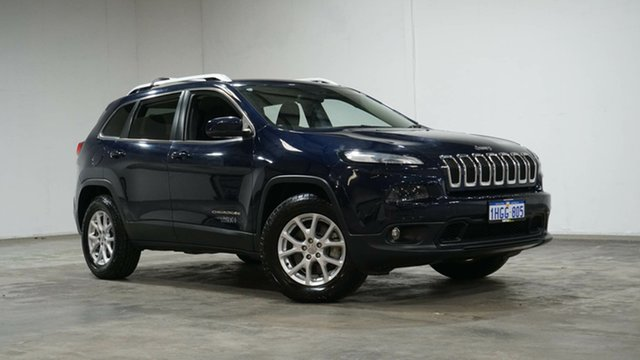 Used Jeep Cherokee KL MY15 Longitude Welshpool, 2015 Jeep Cherokee KL MY15 Longitude Blue 9 Speed Sports Automatic Wagon