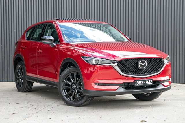 Demo Mazda CX-5 KF4WLA GT SKYACTIV-Drive i-ACTIV AWD SP Mornington, 2021 Mazda CX-5 KF4WLA GT SKYACTIV-Drive i-ACTIV AWD SP Soul Red Crystal 6 Speed Sports Automatic