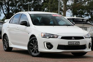 2016 Mitsubishi Lancer CF MY16 ES Sport White 5 Speed Manual Sedan.