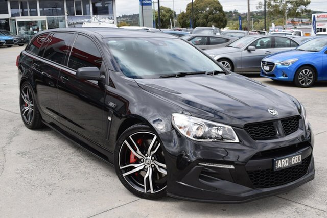 Used Holden Special Vehicles ClubSport Gen-F2 MY17 R8 Tourer LSA Ferntree Gully, 2017 Holden Special Vehicles ClubSport Gen-F2 MY17 R8 Tourer LSA Black 6 Speed Sports Automatic
