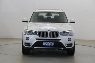 2018 BMW X3 G01 xDrive20d Steptronic White 8 Speed Automatic Wagon.