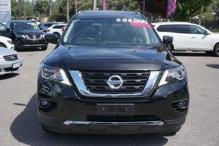 2019 Nissan Pathfinder R52 Series III MY19 Ti X-tronic 2WD Black 1 Speed Constant Variable Wagon.