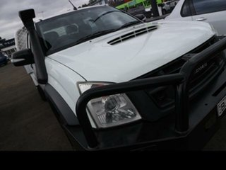 2009 Isuzu D-MAX TF LS-M (4x4) Satin White 5 Speed Manual Crew Cab Utility