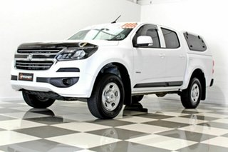 2019 Holden Colorado RG MY19 LS (4x2) (5Yr) White 6 Speed Automatic Crew Cab Pickup
