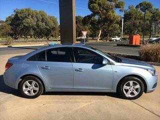 2010 Holden Cruze JG CD Iced Blue - Metallic 6 Speed Sports Automatic Sedan.