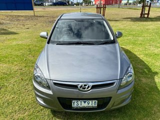 2011 Hyundai i30 FD MY11 SX Silver 6 Speed Manual Hatchback