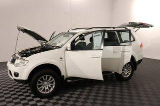 2013 Mitsubishi Challenger PB (KH) MY13 LS White 5 speed Automatic Wagon