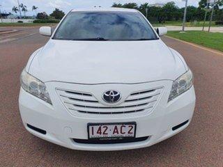 2007 Toyota Camry ACV40R Altise Diamond White 5 Speed Automatic Sedan.