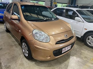 2011 Nissan Micra K13 ST Gold 4 Speed Automatic Hatchback