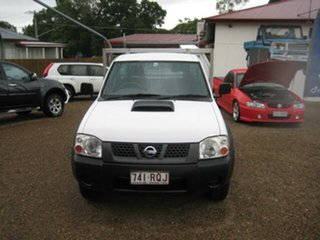 2011 Nissan Navara White 5 Speed Manual Utility