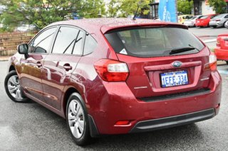 2013 Subaru Impreza G4 MY14 2.0i Lineartronic AWD Venetian Red 6 Speed Constant Variable Hatchback.