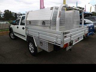2009 Isuzu D-MAX TF LS-M (4x4) Satin White 5 Speed Manual Crew Cab Utility.