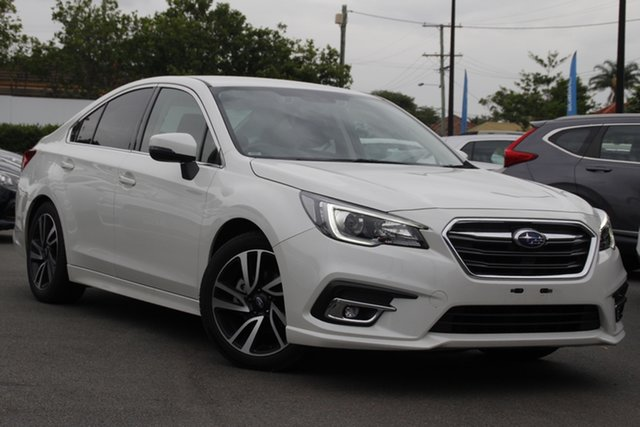 Used Subaru Liberty B6 MY19 2.5i CVT AWD Mount Gravatt, 2019 Subaru Liberty B6 MY19 2.5i CVT AWD White 6 Speed Constant Variable Sedan