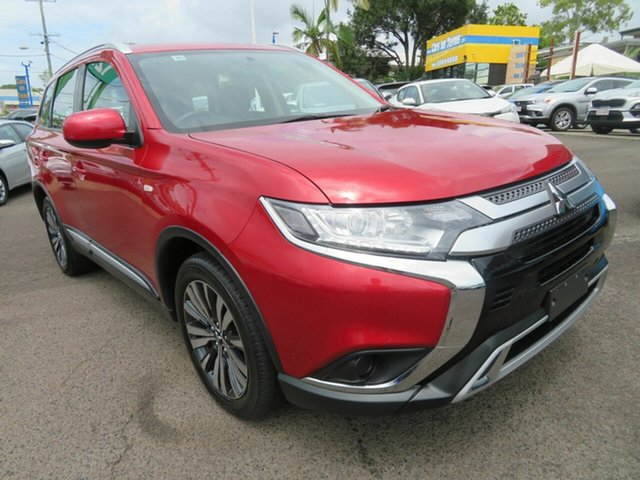 Used Mitsubishi Outlander ZL MY19 ES AWD Mount Gravatt, 2019 Mitsubishi Outlander ZL MY19 ES AWD Red 6 Speed Constant Variable Wagon