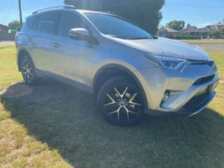 2016 Toyota RAV4 ZSA42R MY17 GXL (2WD) Silver Sky Continuous Variable Wagon.