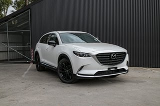 2021 Mazda CX-9 TC GT SP SKYACTIV-Drive Snowflake White Pearl 6 Speed Sports Automatic Wagon.