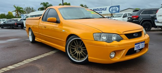 Used Ford Falcon BF Mk II XR6 Turbo Ute Super Cab East Bunbury, 2007 Ford Falcon BF Mk II XR6 Turbo Ute Super Cab 6 Speed Manual Utility