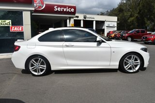 2014 BMW 2 Series F22 220d M Sport White 8 Speed Sports Automatic Coupe.