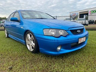 2003 Ford Falcon BA XR6 Turbo Blue 5 Speed Manual Sedan.