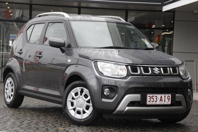 Demo Suzuki Ignis MF Series II GL Mount Gravatt, 2020 Suzuki Ignis MF Series II GL Mineral Grey 1 Speed Constant Variable Hatchback