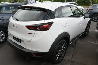 2020 Mazda CX-3 DK2W7A Snowflake White Pearl 6 Speed Sports Automatic Wagon.