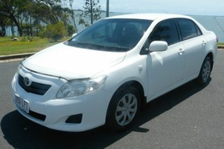 2008 Toyota Corolla ZRE152R Ascent White 6 Speed Manual Sedan