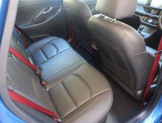 2017 Hyundai i30 PD MY18 SR D-CT Premium Blue 7 Speed Sports Automatic Dual Clutch Hatchback