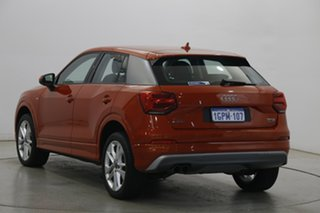 2018 Audi Q2 GA MY18 Sport S Tronic Quattro Coral Orange 7 Speed Sports Automatic Dual Clutch Wagon