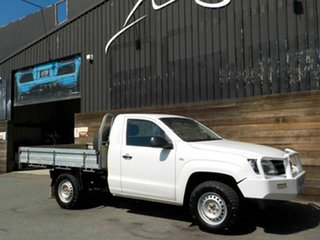 2015 Volkswagen Amarok 2H MY15 TDI420 4Motion Perm White 8 Speed Automatic Cab Chassis.