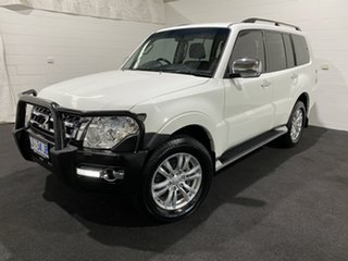 2015 Mitsubishi Pajero NX MY15 GLX White 5 Speed Sports Automatic Wagon