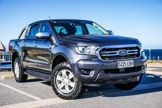 Used Ford Ranger PX MkIII 2019.00MY XLT Christies Beach, 2019 Ford Ranger PX MkIII 2019.00MY XLT Grey 10 Speed Sports Automatic Double Cab Pick Up