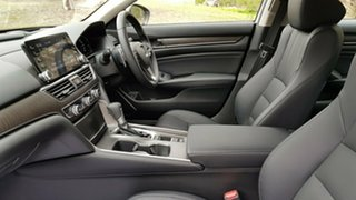 2019 Honda Accord 10th Gen MY19 VTi-LX Platinum White 1 Speed Constant Variable Sedan