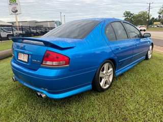 2003 Ford Falcon BA XR6 Turbo Blue 5 Speed Manual Sedan