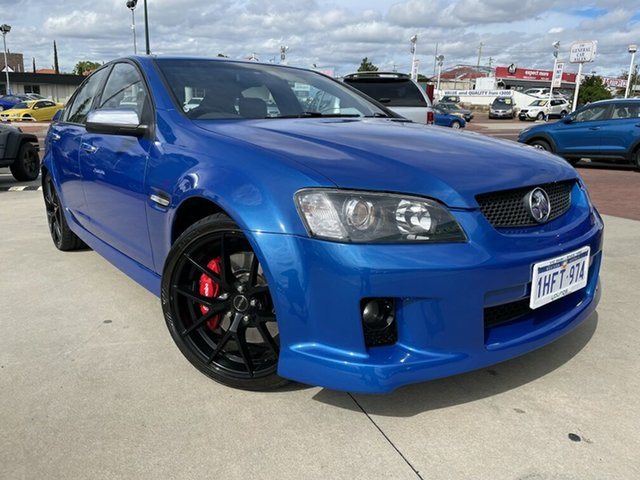 Used Holden Commodore VE MY10 SS Victoria Park, 2010 Holden Commodore VE MY10 SS Blue 6 Speed Manual Sedan
