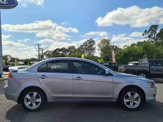 2008 Mitsubishi Lancer ES Silver Manual Sedan