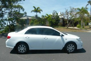 2008 Toyota Corolla ZRE152R Ascent White 6 Speed Manual Sedan.