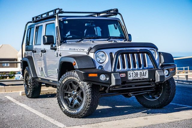 Used Jeep Wrangler JK MY2014 Unlimited Rubicon Christies Beach, 2013 Jeep Wrangler JK MY2014 Unlimited Rubicon Grey 6 Speed Manual Softtop