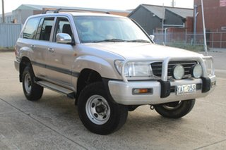 1999 Toyota Landcruiser FZJ105R GXL (4x4) Silver 5 Speed Manual 4x4 Wagon.