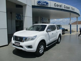2015 Nissan Navara D40 MY12 Upgrade ST (4x4) White 5 Speed Automatic Dual Cab Pick-up.