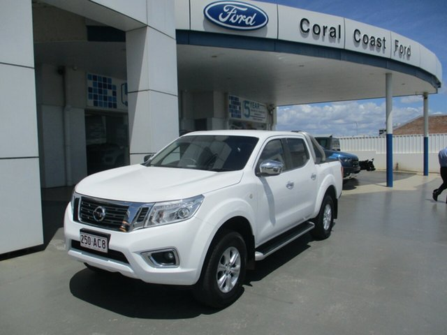 Used Nissan Navara D40 MY12 Upgrade ST (4x4) Bundaberg, 2015 Nissan Navara D40 MY12 Upgrade ST (4x4) White 5 Speed Automatic Dual Cab Pick-up