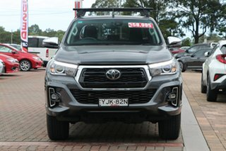 2019 Toyota Hilux GUN126R SR5 Double Cab Grey 6 Speed Sports Automatic Utility