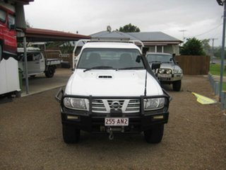 2006 Nissan Patrol White Manual Utility.